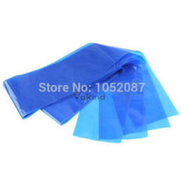 Wholesale NEW Safety Disposable Hygiene Plastic Blue Tattoo clip cord Sleeve Cover Bag Supply