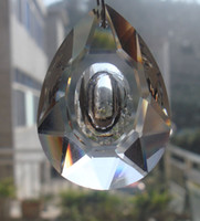Wholesale mm Tranparent Color Crystal Chandelier Parts Glass Prisms Octagon bead Top Quality
