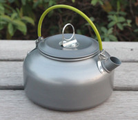aluminium coffee pot - Outdoor Camping aluminium alloy Tea Coffee Kettle Kitchen Tea Pot L