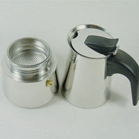 bialetti coffee pot - Bialetti Inoxpran s supplier Espresso Coffee Pots2 cups stainless steel Moka Pot stocked
