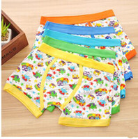 angle clothing - New Arriving Comfortable Children Students Flat Angle Cartoon Baby Clothing Frog Pattern Boy Boxer Shorts Pairs