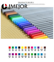 Wholesale Mm Colors Fineliner Pens Marco Super Fine Draw not Stabilo Point Marker Pen Water Based Assorted Ink No tox Material