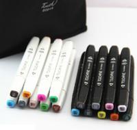 Wholesale Copic marker sets Sketch All Special Set Art Manga korean Markers brush pen boligrafos de colores caneta colorida tinta