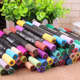 Wholesale-M&G Art Marker Dual tips alcohol based ink for art  architecture  animation  clothes designer art supplies APM25201