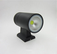 Wholesale Up down contemporary outdoor wall lamp Bridgelux W COB LED wall light IP65 exterior lighting AC110V V V V input