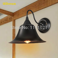 american antique beds - Antique wrought iron LED wall lamp American country restoring ancient way the head of a bed bedroom living room corridor lamp