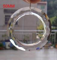 Wholesale mm Fashion Large Crystal Chandelier Lamp Modern Brief Crystal Chandelier Lighting Lighting Lamps O Shape