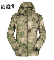 Wholesale New Shark Skin Camouflage Outdoors Military Jacket Men s Waterproof Windproof Camouflage Hunting Jacket