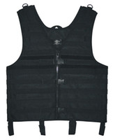 airsoft tactical vest - New Hunting Paintball Airsoft Hiking Black Molle Web Tactical Vest