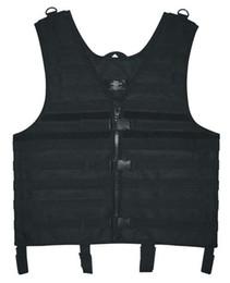 Оптово-Новая Охота / Пейнтбол / Airsoft / Туризм Черный Молле Веб Tactical Vest