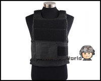 airsoft protective vest - Airsoft Tactical Hunting Shooting Wargame Army Assault BH Body Armor Vest Military CS SWAT Protective Vest Black OD Tan Woodland