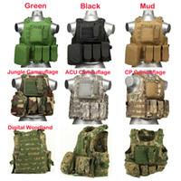 Wholesale USMC Airsoft Tactical Military Molle Combat Assault Plate Carrier Vest Tactical vest colors