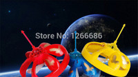 Wholesale Flying disc toys air induction Mini Pocket UFO drone Helicopter
