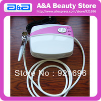 air compressor hose adapter - Portable Airbrush Makeup Kit with pc Airbrush Set Mini Compressor pc Power Adapter Air Hose