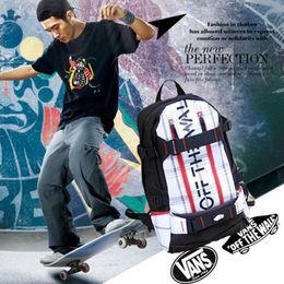 Wholesale printing backpack men s bag bboy hip hop backpack skateboard skate cool travel casual shoulder bag