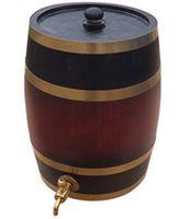 best bar stools - L Bar Stool Yellow Decoration Barrel Art crafts Home Brewed Wine Oak Barrel Cocktail Bar Supplies Best Gift whisky Wine