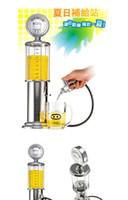 beer dispenser tower - Wine gun wine tower beer bucket beer machine wine column Creative gas station single gun gun water dispenser
