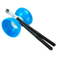 Wholesale New Blue Diabolo Chinese Classic Yo Yo Juggling Spinning Hot Classic Yoyo Diabolo Toy For New Players