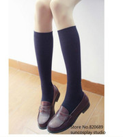 Wholesale Japanese School Student Uniform Shoes Uwabaki JK Round Toe Cosplay Cool Shoes AA0236 suncosplay