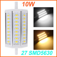 ac factory store - Super Bright Corn Light Bulb W R7S mm Lamp SMD5630 LED Floodlight J118 for factory workshop clothing store AC85 V