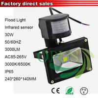 aquarium sensor - W Led reflector aquarium Spotlight outdoor lamp led PIR motion sensor lights Floodlight led flood light luz led para jardim