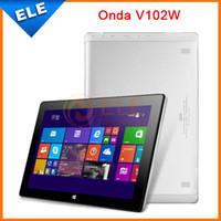 Others Others Quad Core Wholesale-Original 10.1 Inch IPS ONDA V102W Intel Z3736F Quad Core 2GB+32GB Windows 8.1 Tablet PC 1920*1200 HDMI Bluetooth Wifi 8200mAh