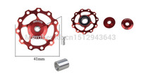 Wholesale MEIJUN Bearing Jockey Wheel T Aluminium Lightest CNC Pulley