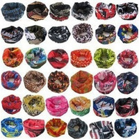 Wholesale Hot Sales Outdoor Sports Cycling Bike Bicycle Riding Variety Turban Magic Headband Veil Multi Head Scarf Scarves Bandanas X0293