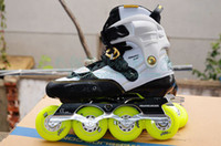 adult rocking chair - Adult Artistic Roller Skates Boots Powerslide EVO Shoes Body High Quality Slalom Skates Good Quality Athletic