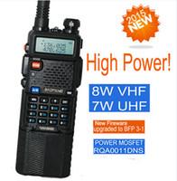 Wholesale Baofeng vhf uhf walkie talkie km UV HX UV5R W radio transceiver sister radio uv b5 uv b6 wouxun kg uvd1p kg uvd1p kg uv8d