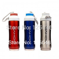 stainless steel double wall bottle - Cycling Bike Bicycle ml Double Wall Stainless Steel Sports Water Bottle Colors