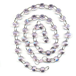 Wholesale cm Clear Sparkly Glass Beaded Chandelier Lamp Chain Top Quality