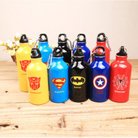 american drinking water - styles American Super Hero series ML Cups Sealing up Water bottle Popular Travel Portable Camping Cycling Water Bottle