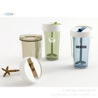acid tea - Creative acid milk tea Coffee insulation glass water cup fruit juice mixing cup lemon juice cup