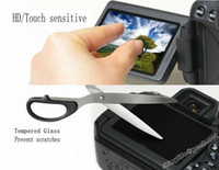 Wholesale LV9 mm Ultrathin H Super hardness Tempered Glass HD Screen Protector for Canon EOS D D Digital Camera