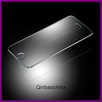 Wholesale mm new For iPhone Premium Tempered Glass Screen Protector for iPhone s c Toughened protective film With