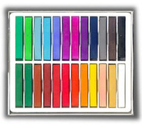 Wholesale Soft Chalk Pastels Set for Art Drawing Scrapbooking amp More Assorted Colors Bag of