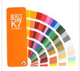 Wholesale Absolutely genuine Germany RAL International standard color card raul K7 Paint coatings color card
