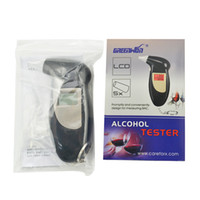 Wholesale Fashion Professional Breath Alcohol Tester Breathalyzer Digital LCD Breath Alcohol Tester PFT