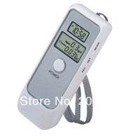 alcohol time - Dual LCD Screen Alcohol Breath Tester Digital Analyzer Breathalyzer with Time Display