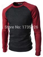 hoodies wholesale - Autumn Mens Fashion Fleece Sweatershirt Round Neck Stitch Design For hoodie Men Dress Man Warm Hoody Plus Size4XL
