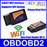 auto connection - Newly ELM327 WIFI WIFI Connection OBD2 Auto Code Reader WI FI Connection ELM Supports iOS Phone OBD2 Diagnostic