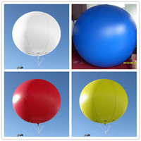 Wholesale m ft Giant Inflatable Advertising Round Balloons Flying Balloons Your Logo
