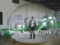Wholesale GB01 TPU Advertising inflatables inflatable clear tent Clear Prefab Bubble Tents inflatable globe tent Repair Kits