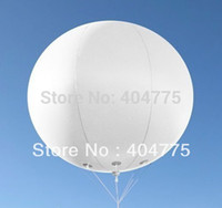 advertising air balloons - PVC inflatable white advertising balloon with shipping by air express door to door