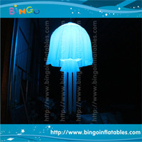 Wholesale Inflatable jellyfish lighting decoration wonderful for party bar event decoration party decoration