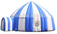 Wholesale giant Inflatable circus tent giant inflatable igloo tent large inflatable dome tent big inflatable tent