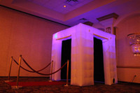 inflatable tent - led lights inflatable photo booth enclosure good lights good advertising equipement hot sale