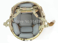 Wholesale TACTICAL AIRSOFT MILITARY PROTECTIVE PAD FOR HELMET GREY