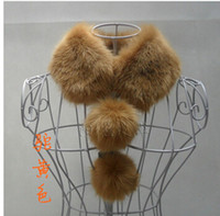 Wholesale Sub faux fur collar scarf muffler scarf false collar faux fox fur scarf collar women